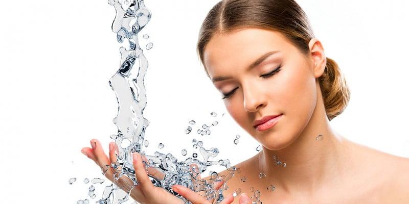 hydrateren van de huid